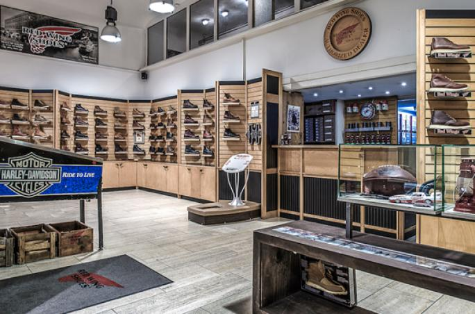 Red Wing Shoe Store in Frankfurt wird 40