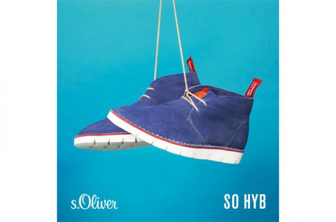 s.Oliver lanciert neue Schuhlinien: So Hyb und So Flex