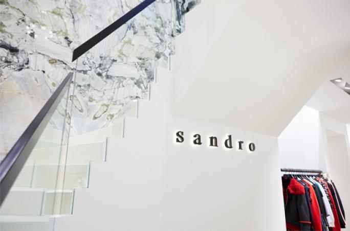 Sandro Paris eröffnet neuen Flagship-Store in München