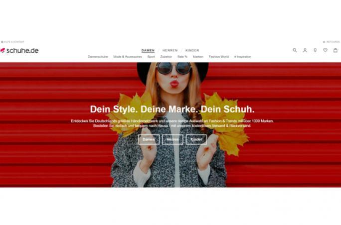 Schuhe.de bietet neues Online-Einkaufserlebnis
