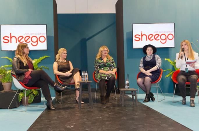 Sheego, Panorama Berlin , Anna Scholz , Sabine Tietz, Angelina Kirsch