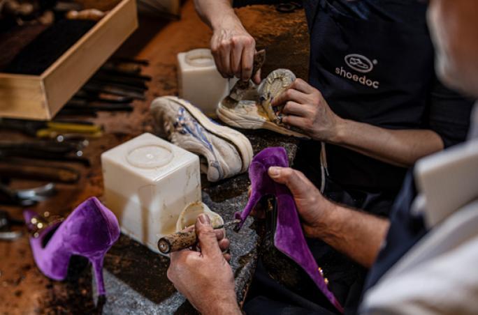 Shoedoc: Online Reparatur-Service für Schuhe