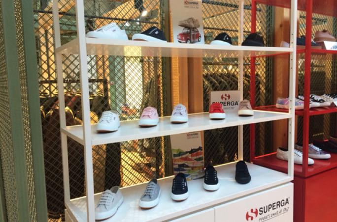 Superga: Pop-up Store in Berlin