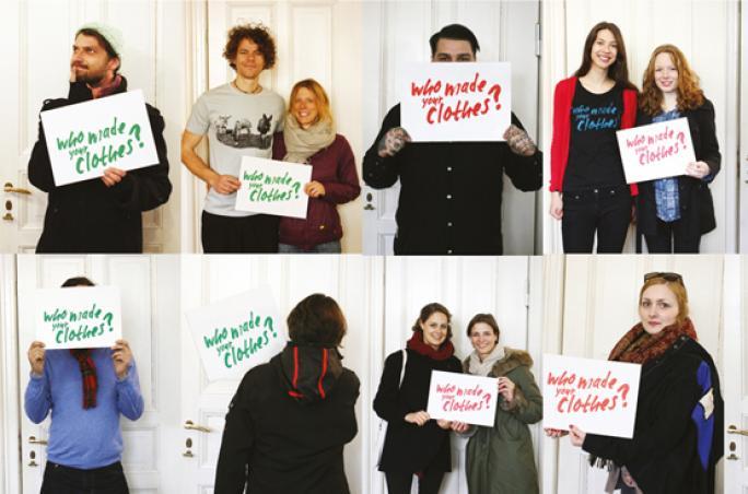 Supermarché feiert Fashion Revolution Day