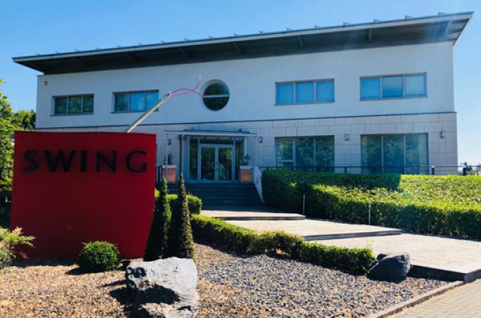 Swing bezieht neuen Showroom in Düsseldorf
