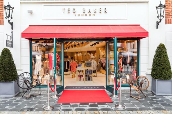 Ted Baker: Erster Store im McArthurGlen Outlet