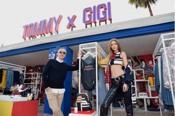 Gigi Hadid weiterhin Markenbotschafterin für Tommy Hilfiger