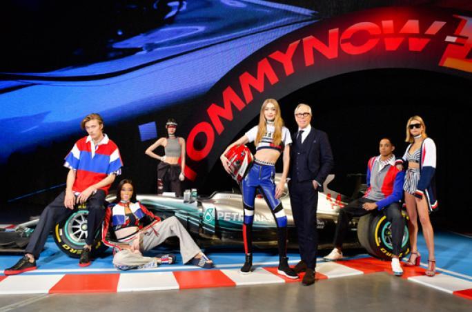 Tommy Hilfiger: See-now-buy-now Show in Paris