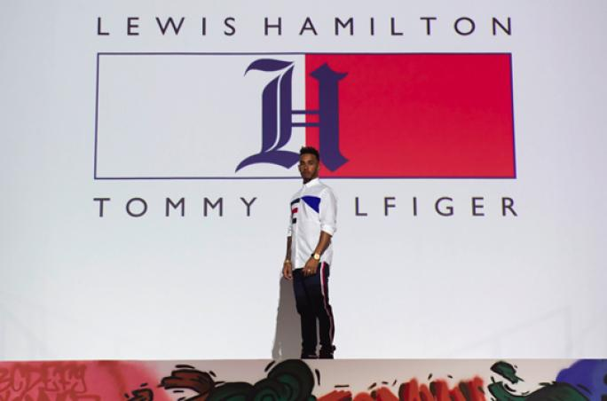 tommy hilfiger x lewis hamilton erste gemeinsame. Black Bedroom Furniture Sets. Home Design Ideas