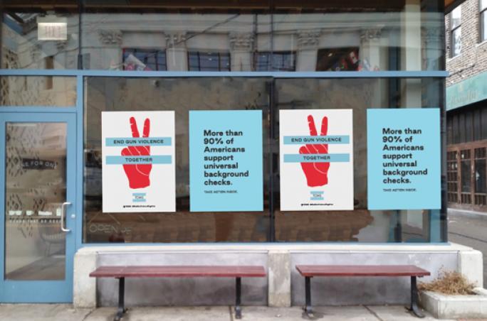 Toms: Kampagne gegen Waffengewalt