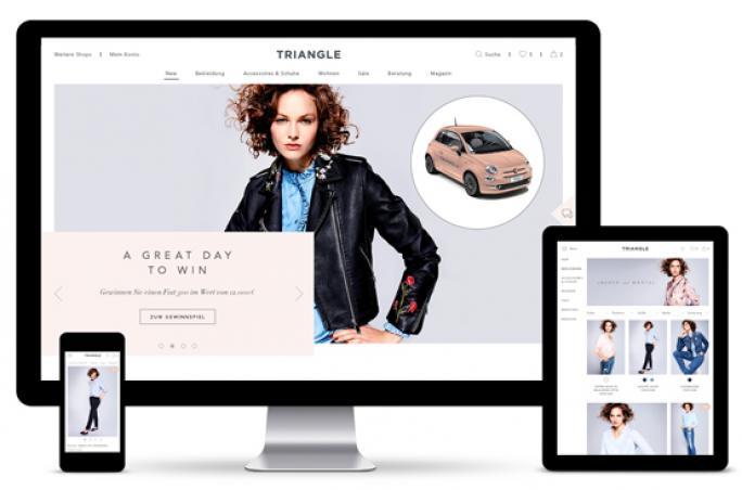 Triangle startet eigenen Online-Shop