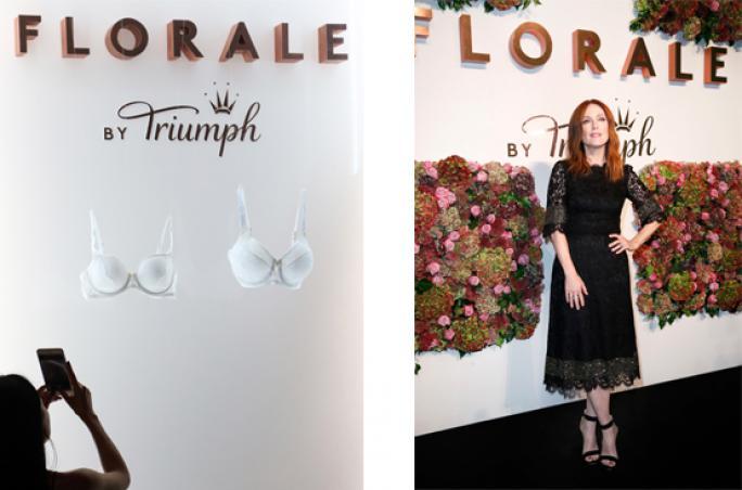 Triumph präsentiert Premium-Lingerie 'Florale'