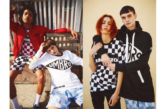 Umbro und House of Holland mit neuer Unisex-Kollektion