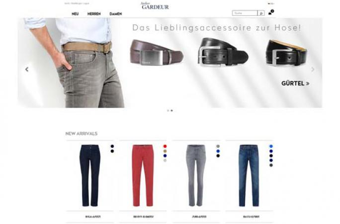 Atelier Gardeur ,  E-Commerce-Plattform , Gerhard Kränzle