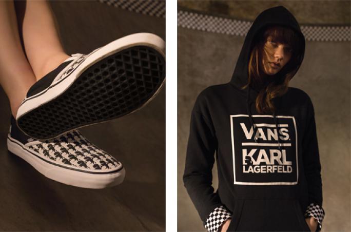 Vans und Karl Lagerfeld machen gemeinsame Sache