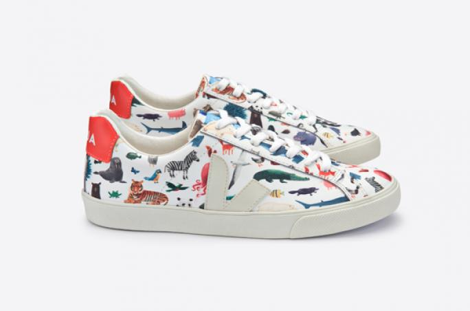 Veja x Oliver Jeffers: Sneakerstyles mit Tiermotiven