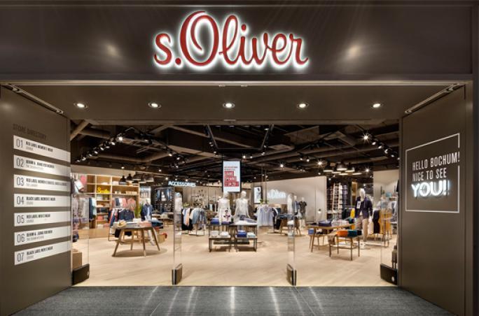 s.Oliver präsentiert 'Digital Signage' Store Konzept