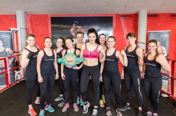 Sport-BH-Test bei den 'Anita Active Days'