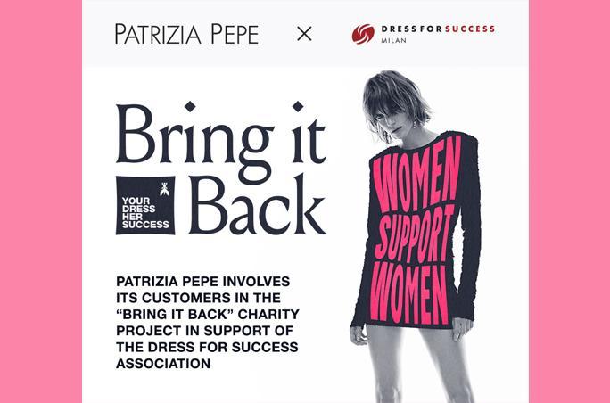 Bring it back Patrizia Pepe