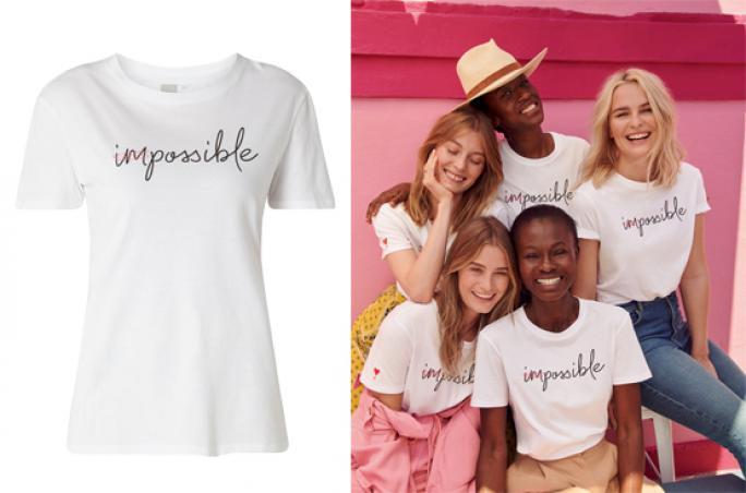 Peek & Cloppenburg setzt mit T-Shirt ein Zeichen für mehr Women's Empowerment