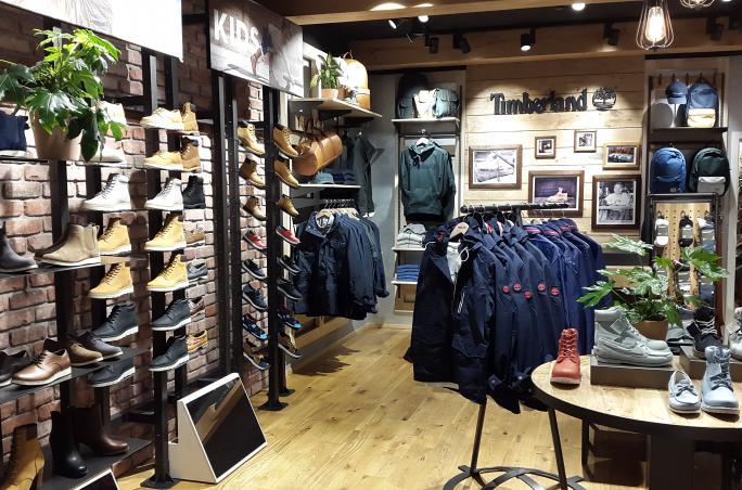 Timberland eröffnet neue Franchise Stores
