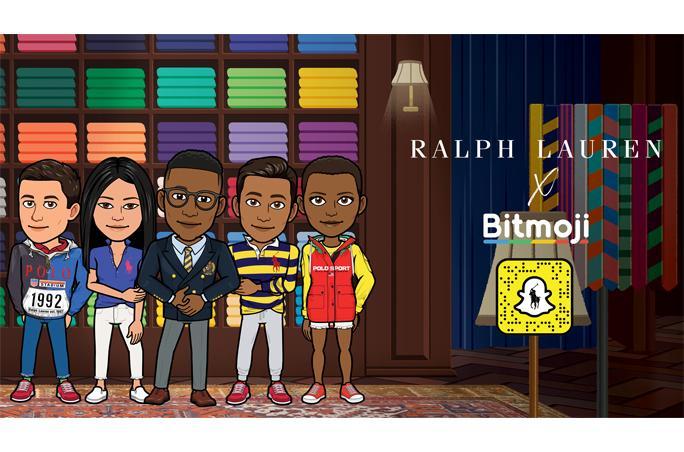 Ralph Lauren präsentiert Mode über Bitmoji-Avatare