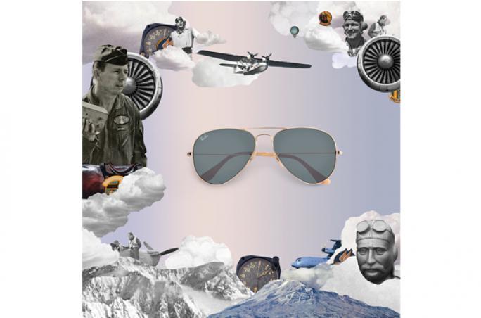 Rayban feiert die 'Aviator' mit Neuauflage