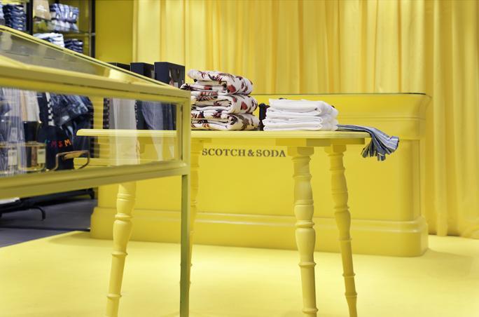 Scotch & Soda mit Pop-Up Store auf Sylt