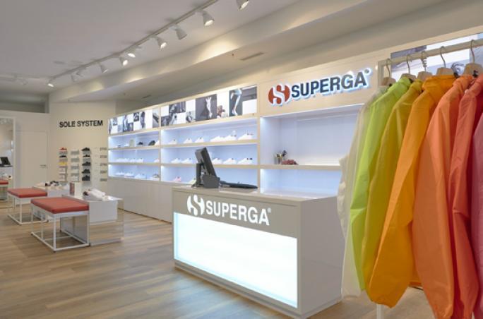 Superga öffnet die Pforten seines ersten deutschen Flagship-Stores