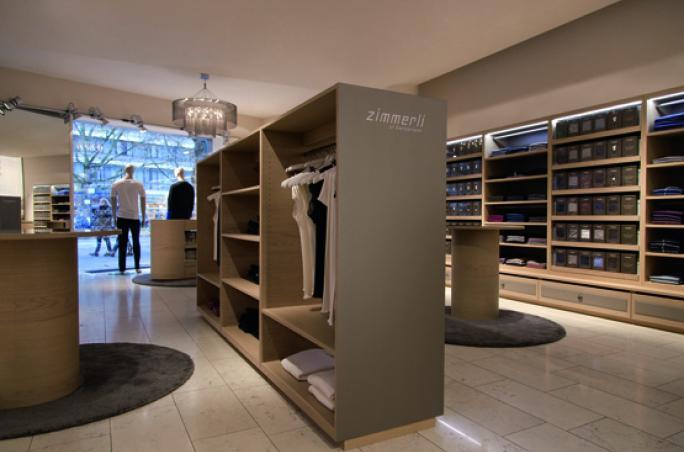 Zimmerli of Switzerland ,  Flagship-Store , Berlin,