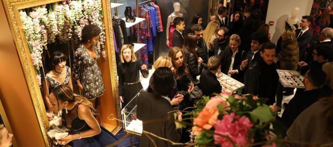 La Perla, Wiedereröffnung, Via Montenapoleone, Expansions, Interieur, Mailänder Modewoche, Bacicchi Assotiati Studios, Silvio Scaglia
