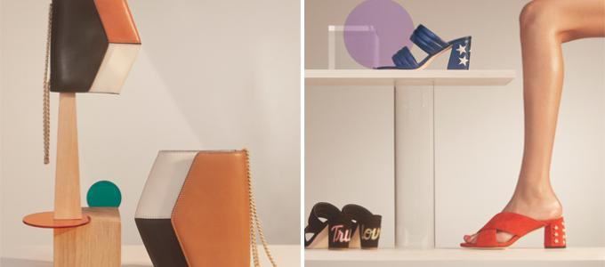 Sandro Paris, Accessoires, Schuhe, Gürtel, Taschen, Details, Leder, kontrastreich